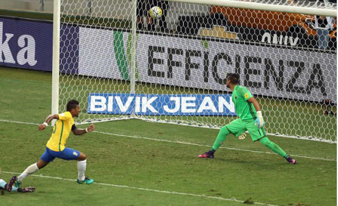 Guangzhou Evergrande Beat Beijing Guaon Thanks To A Paulinho Double