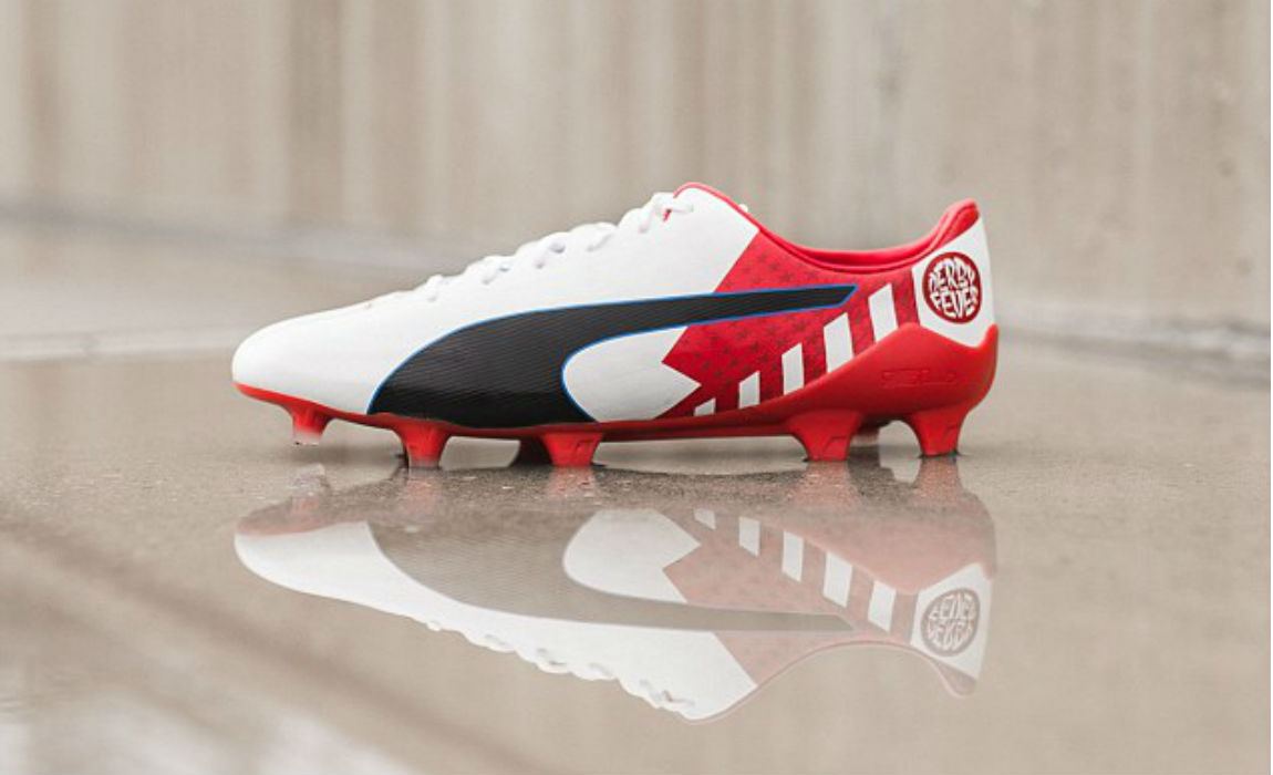 9c507cd75 puma-evo-speed The Atletico Madrid forward will wear an exclusive pair of  Puma s evoSPEED Derby Fever boots ...