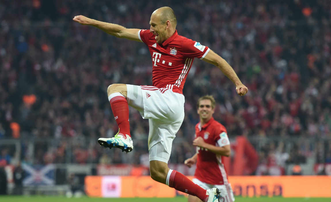 Arjen Robben Not Worried About Contract Extension With Bayern Munich