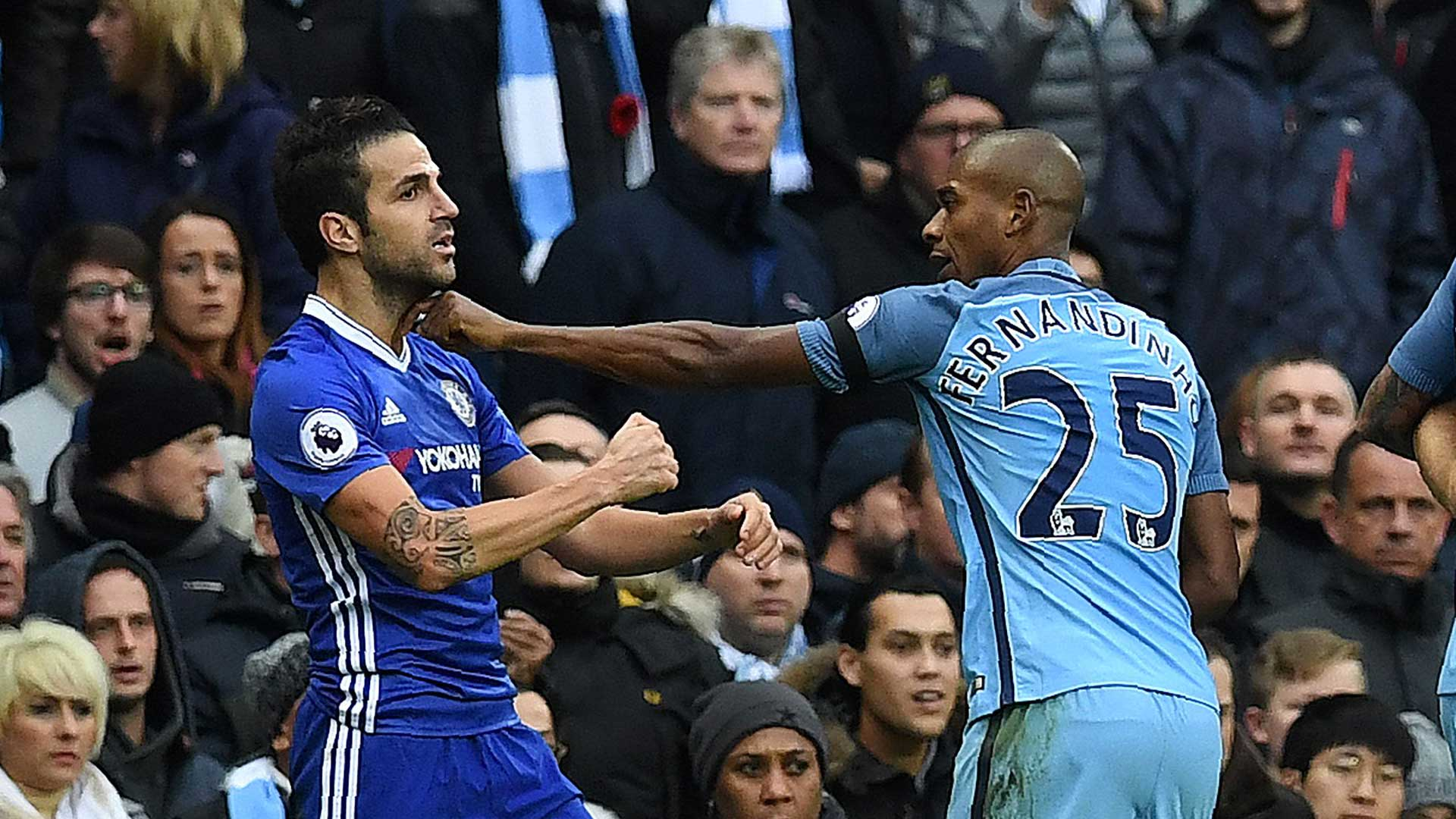FA To Start Probe In Manchester City Chelsea 30 Man Brawl