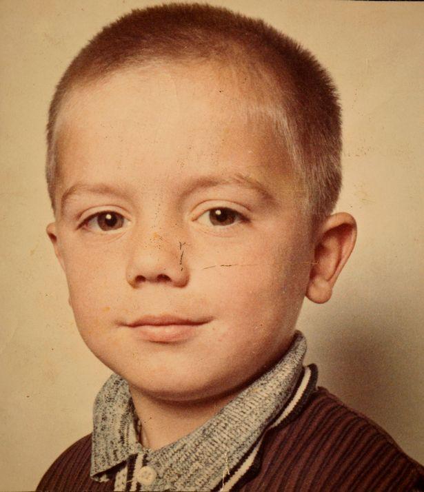 Gary Johnson at seven years old.