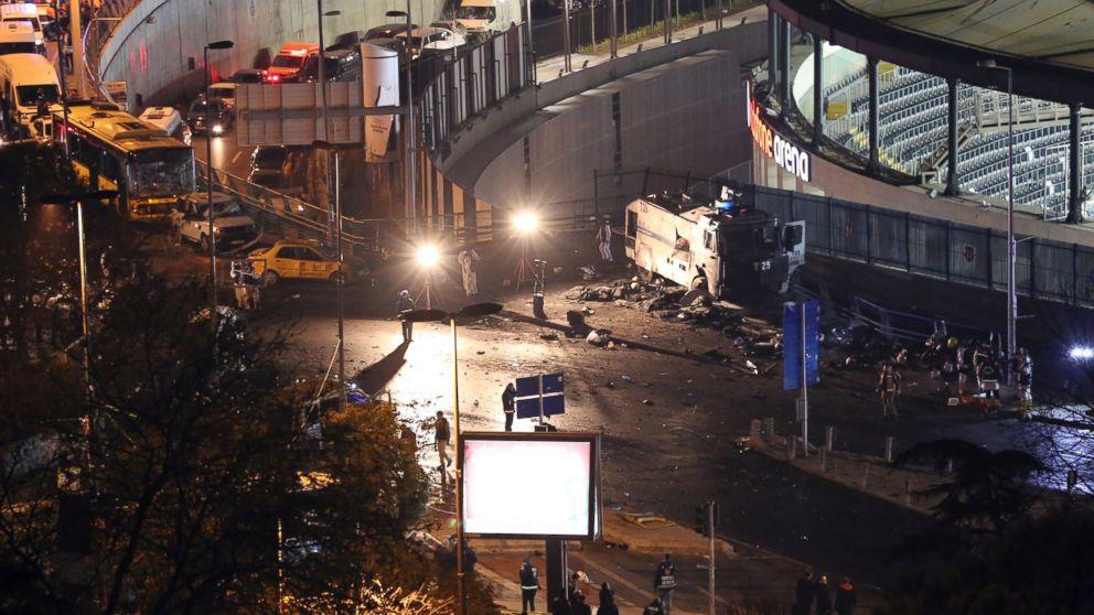 Istanbul Football Stadium Blast By Kurdistan Freedom Hawks (TAK)