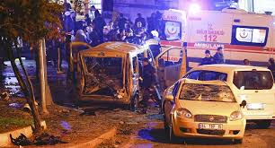 Of the 38 dead, 30 were police officers who had been near the site of the blast at the Besiktas Stadium