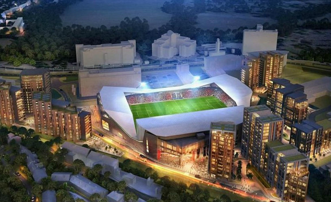 Get Up Close And Personal With The Top 10 Football Stadiums Of The Future In Construction