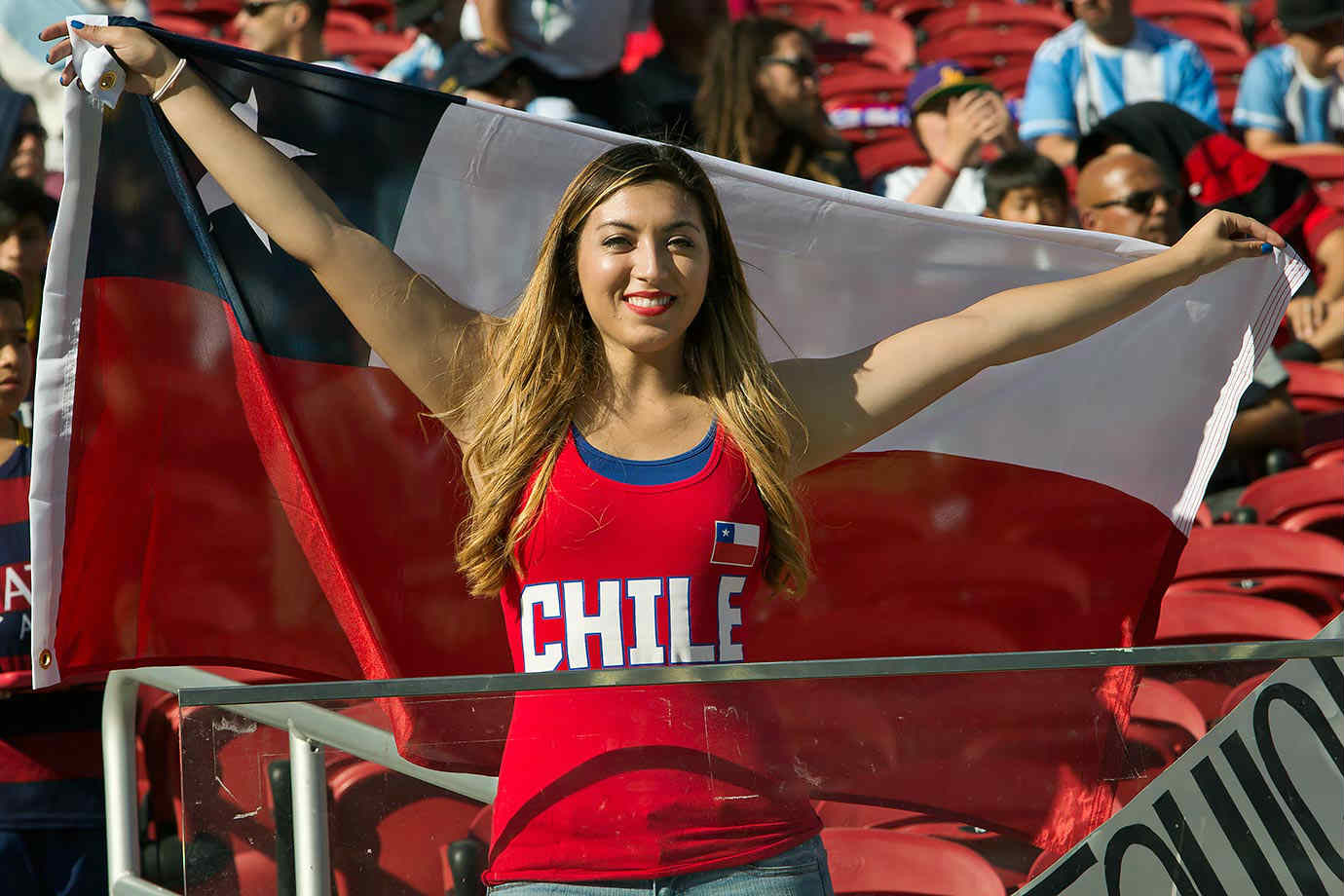 75c61a718fb And Chilean female fans are never shy about showing their love for their  stars – always rowdy