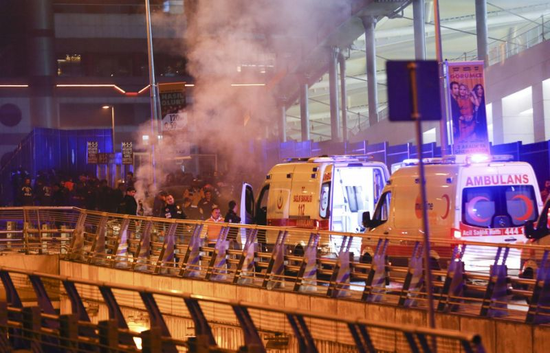 29 dead, 166 wounded after two separate blasts near Besiktas football stadium