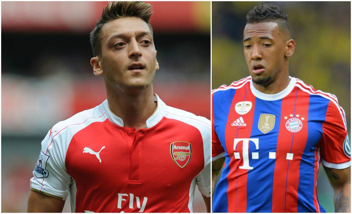 Arsenal Star Ozil Fires Warning To Germany Ace Jerome Boateng