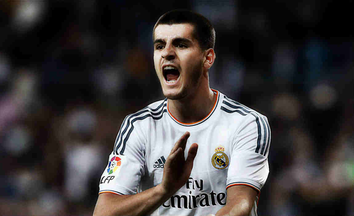Alvaro Morata Not Needed At Real Madrid And Not Wanted By AC Milan