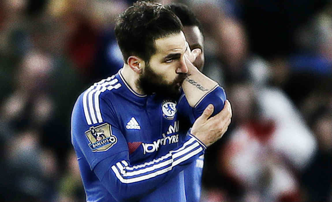 AC Milan Line Up Sensational Move For Chelsea Playmaker Cesc Fabregas