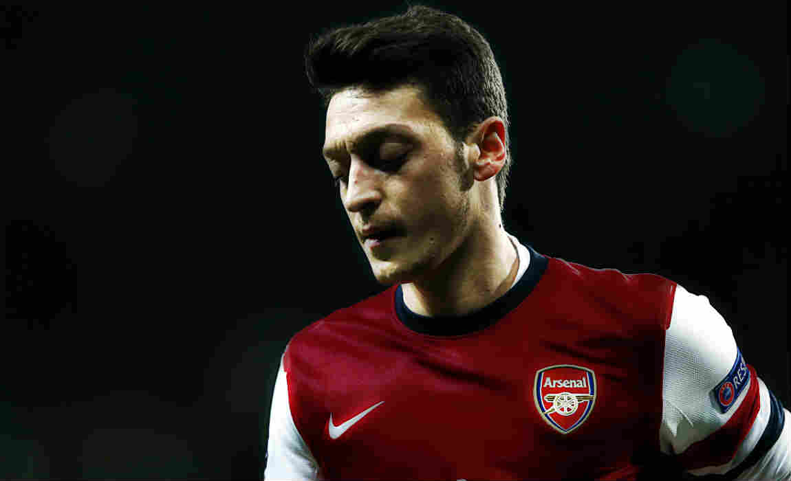 1fa6c6269 Ozil Eyeing Wilshere s Vacant Number 10 Shirt At Arsenal Despite Contract  Tussle