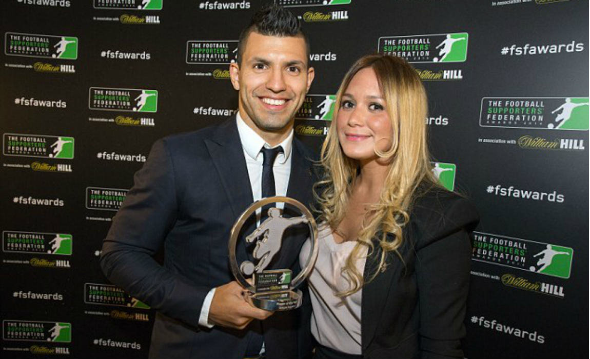 Sergio Aguero's New Girlfriend's Daughter Labels His Son A ...
