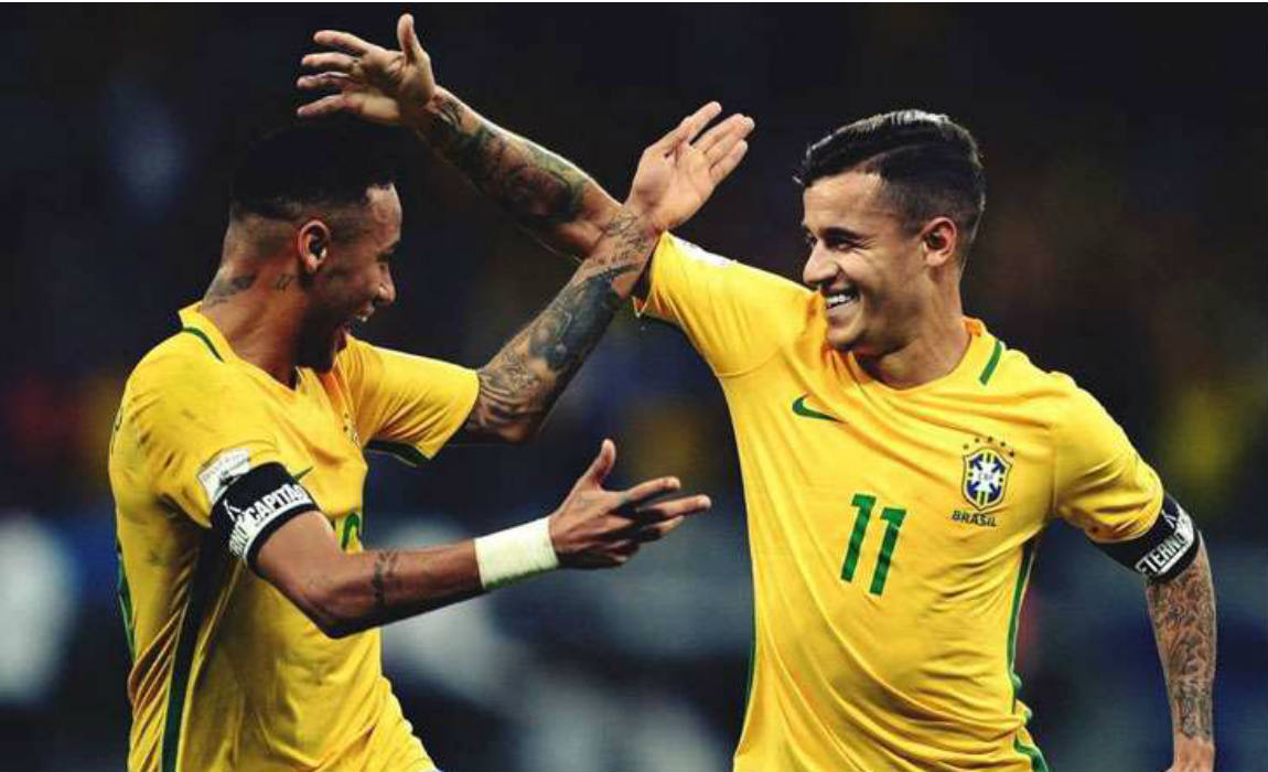 Philippe Coutinho Voted As The Best Brazilian Player In Europe For 2016