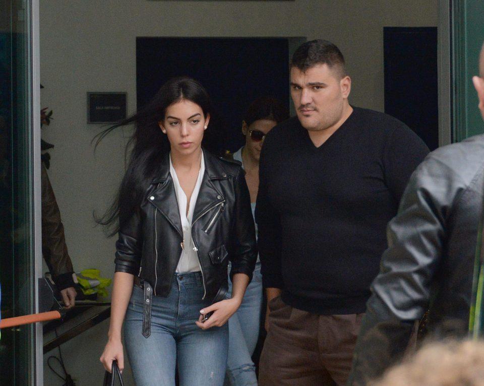 Ronaldo's Girlfriend Georgina Rodriguez Was In The Stands ...