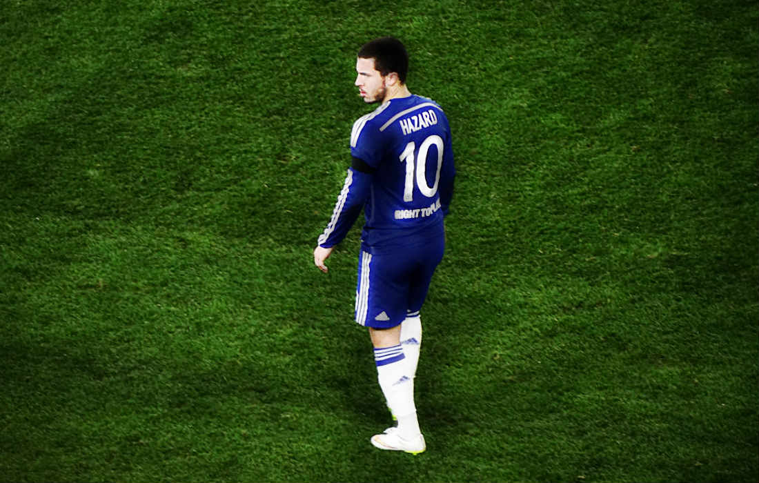 Eden Hazard Reveals How He Became A Superstar... By Treating The Ball As His Lover