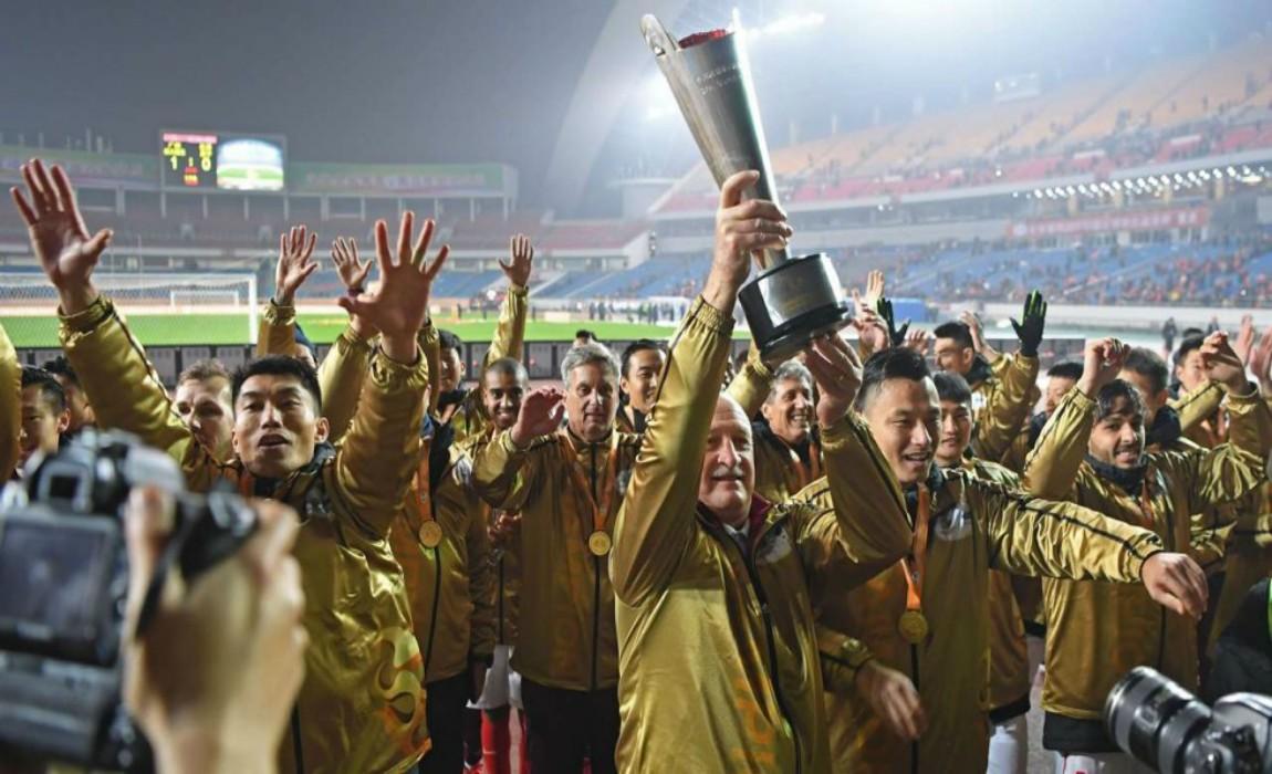 Alan Scores Winner, Guangzhou Evergrande Retains CFA Super Cup Title