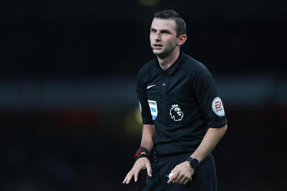 Premier League Faces Refereeing Crisis With Michael Oliver ...