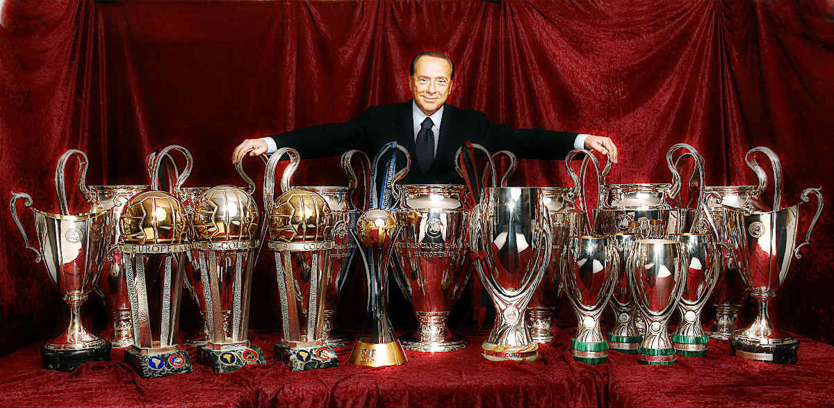 AC Milans Magical Journey With Silvio Berlusconi Ends.. A Look Back At El Presidentes Reign