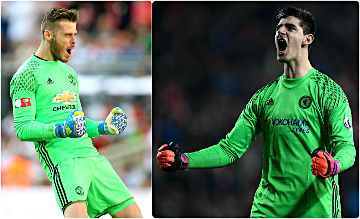 c0f564381d5 De Gea And Courtois Locked In A Tug-O-War As Real Madrid Look To Replace  Keylor Navas