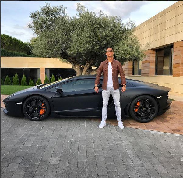 Real Madrid Star Cristiano Ronaldo Takes Bugatti Chiron