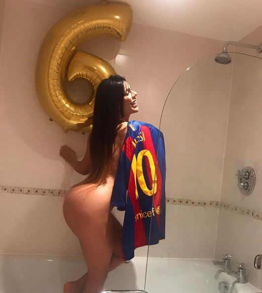 Miss Bumbum Suzy Cortez Celebrates Epic Barca Comeback Win With Raunchy Photo