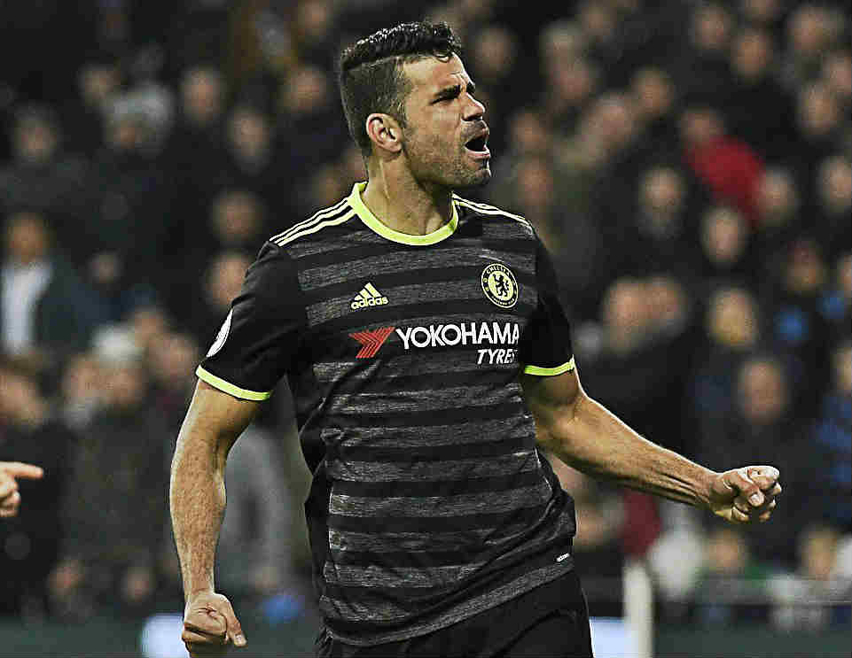 Diego Costa Opens Legal Case Against Chelsea Over His Pending Exit From Stamford Bridge