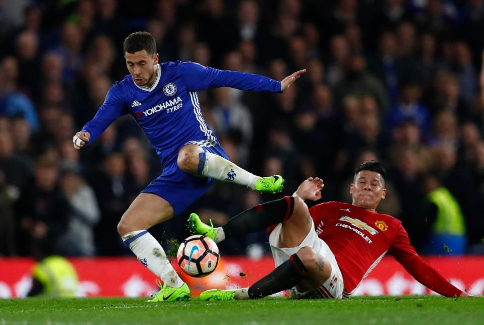 Chelsea Legend Michael Ballack Has Urged Eden Hazard To Snub Real Madrid To Avoid Ego Games At Santiago Bernabeu