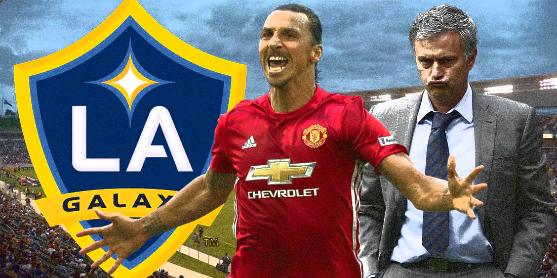 Zlatan Ibrahimovic Set To Join LA Galaxy Following Manchester United Release