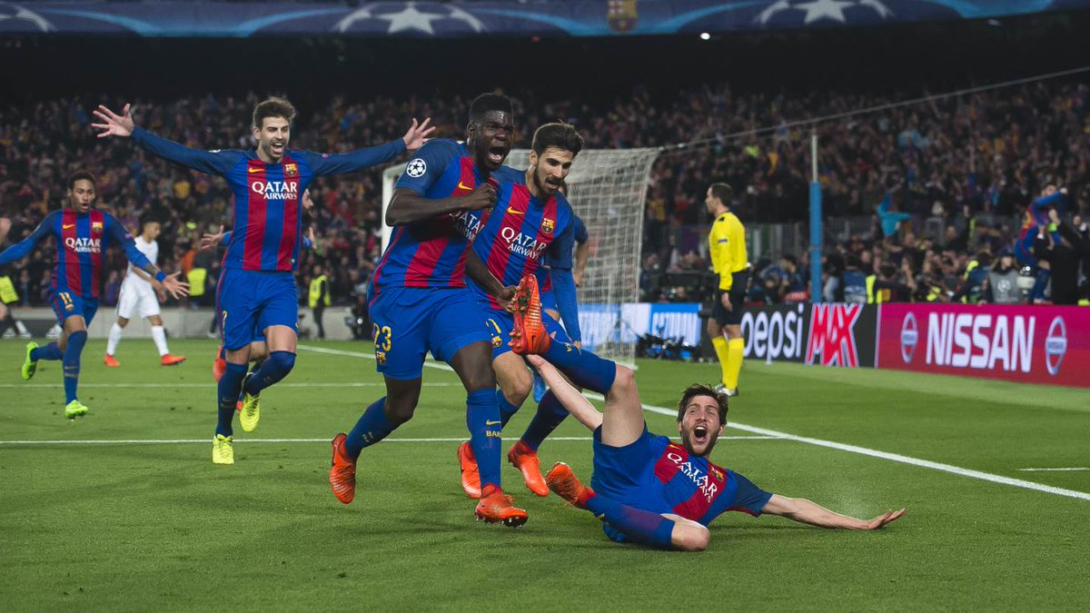 After The Historic Win, This Is How Barcelona Players Celebrated Their Victory