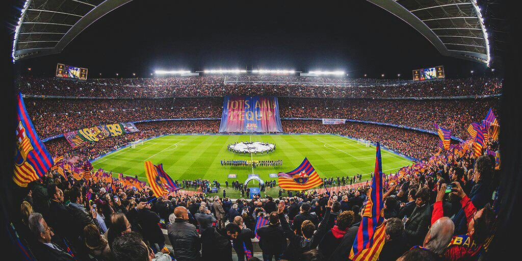 Image result for Camp Nou night