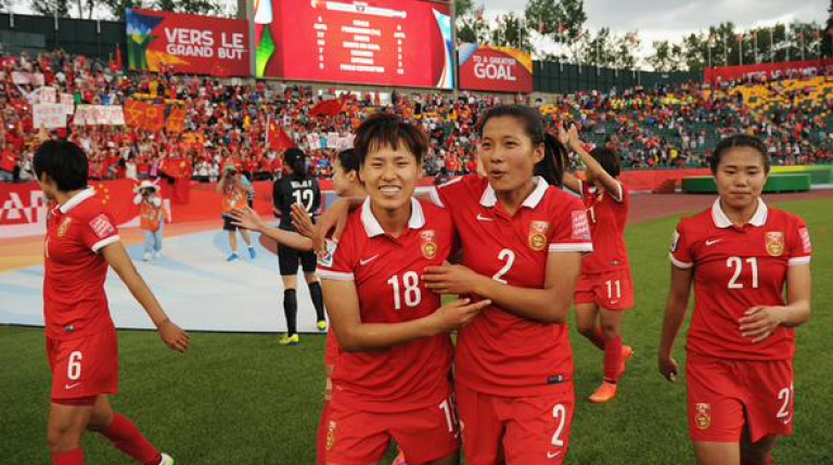 South Korean Women Team Arrives In North Korea for AFC Womens Asian Cup Jordan 2018 Qualifiers