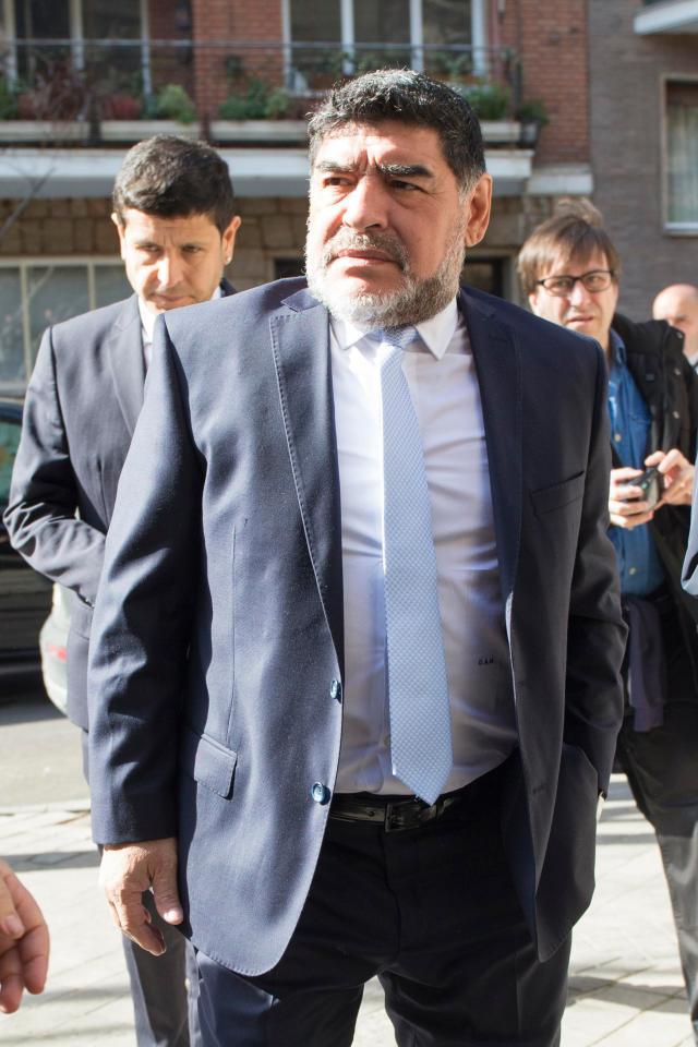 Argentine Legend Diego Maradona Set For Multi Million Pound Move To China