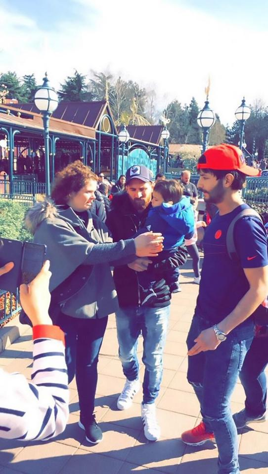 Messi Takes Break From Barcelona, Goes For Undercover Trip To Disneyland Paris