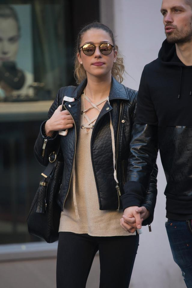 Shopping: Morgan Schneiderlin And Fiancee Camille Sold Go For Wedding Ring Shopping In Manchester