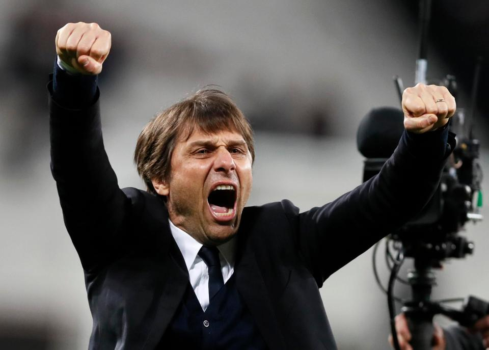 Conte Will Not Tone Down His Touchline Antics For The FA Cup Clash Against Man Utd