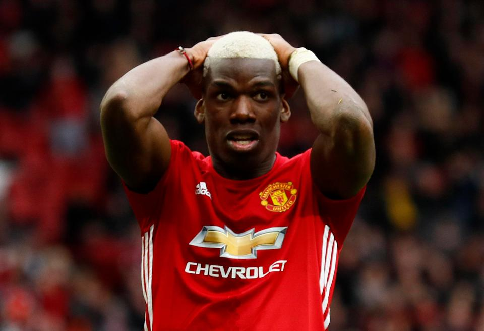 Man Utds Paul Pogba Ordered To Put Football Before His Image By A Frustrated Mourinho