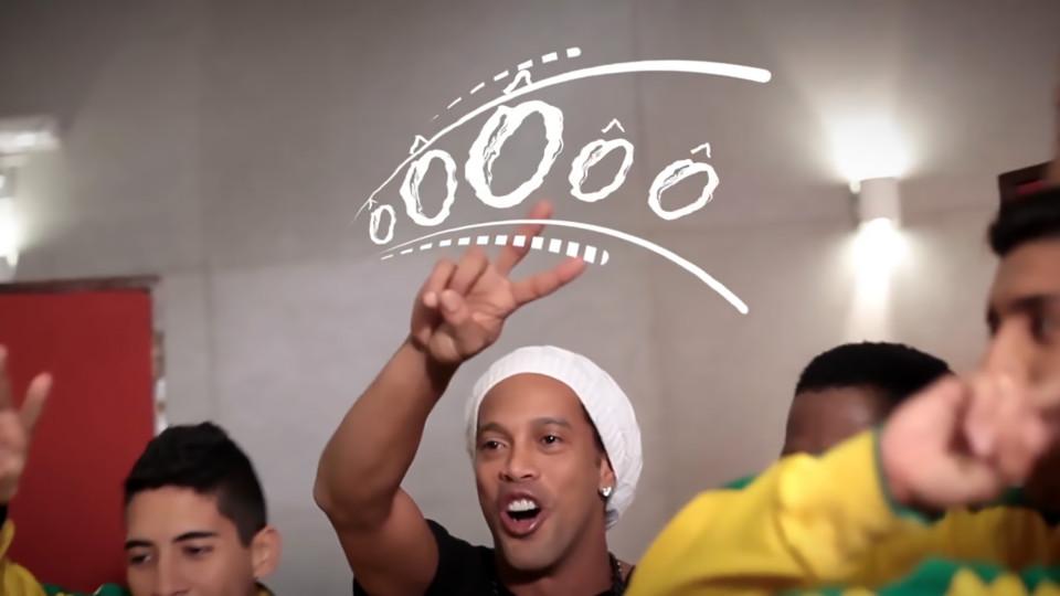 Ronaldinho in Rio Paralympics song