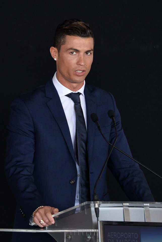 Ronaldo And Girlfriend Georgina Adds Glamour To Re Naming Of Madeira Airport In His Name Name