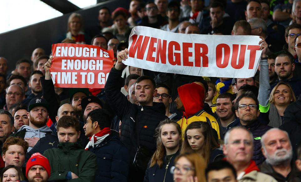 Arsenal Protesters Vow That Things Will Only Get Worse If Wenger Signs A New Deal