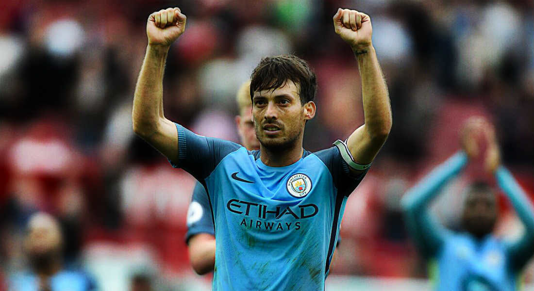David Silva Is On Par With Barcelona Greats Xavi And Andres Iniesta