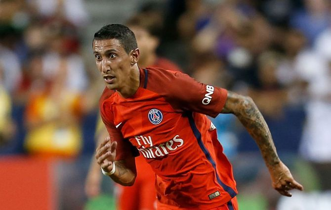 Di Maria Scores Brace To Help PSG Win 2 0 Against Angers In Ligue 1