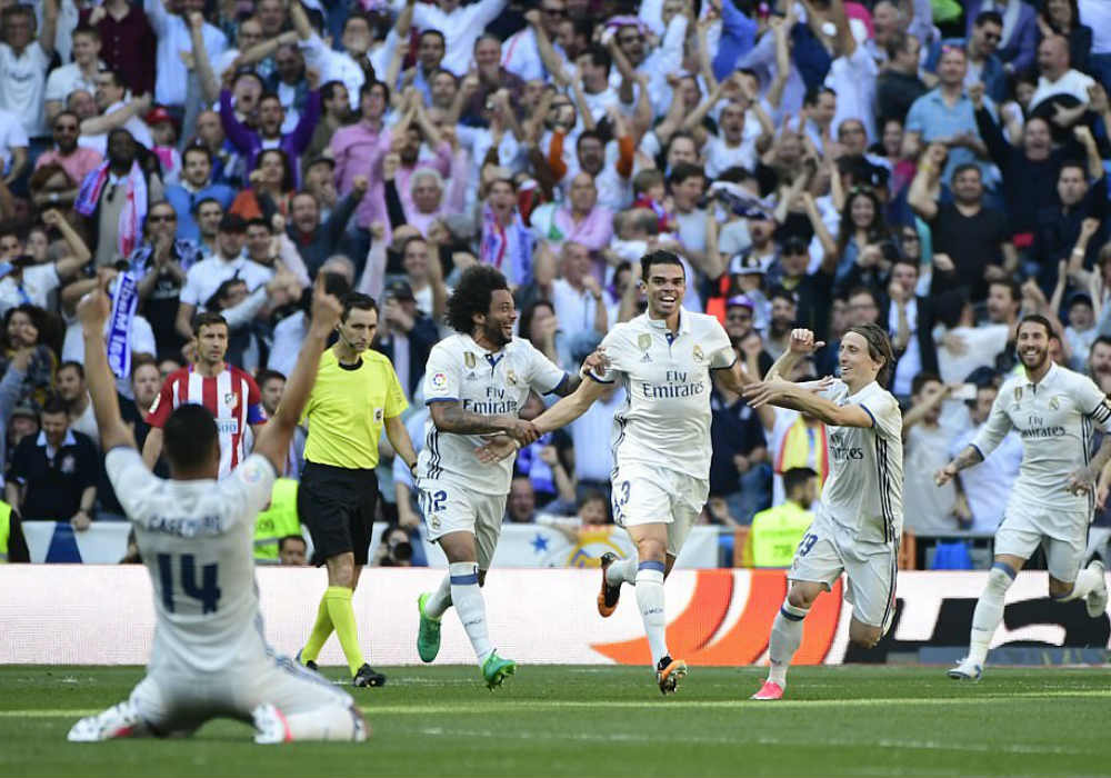 Real Madrid Extend Lead At The Top Of La Liga After Barcelona Fall Victim To Malaga