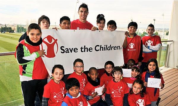 Ronaldo charity work