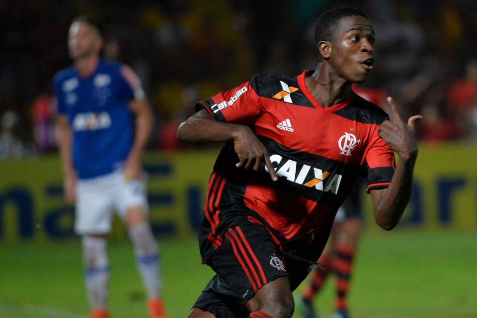 Barcelona Open Negotiations For Teenage Brazil Sensation Vinicius Junior
