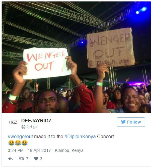 WENGER OUT Goes Global! 11 Weirdest Places With Arsenal Protest Banners