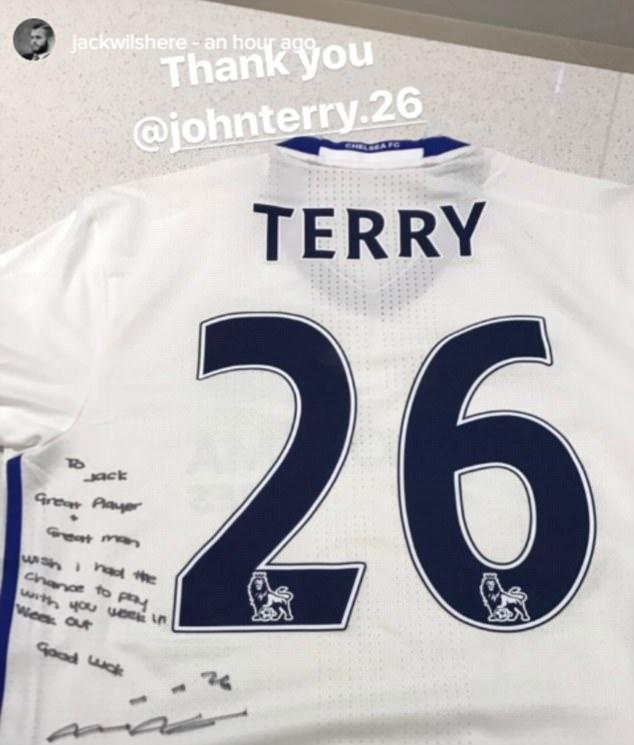 Chelsea Great John Terry Sends Heartfelt Message To Great Man Arsenal Midfielder Jack Wilshere