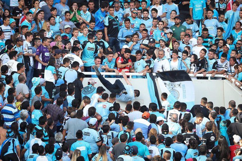 Fan Dies In Argentine Football Violence