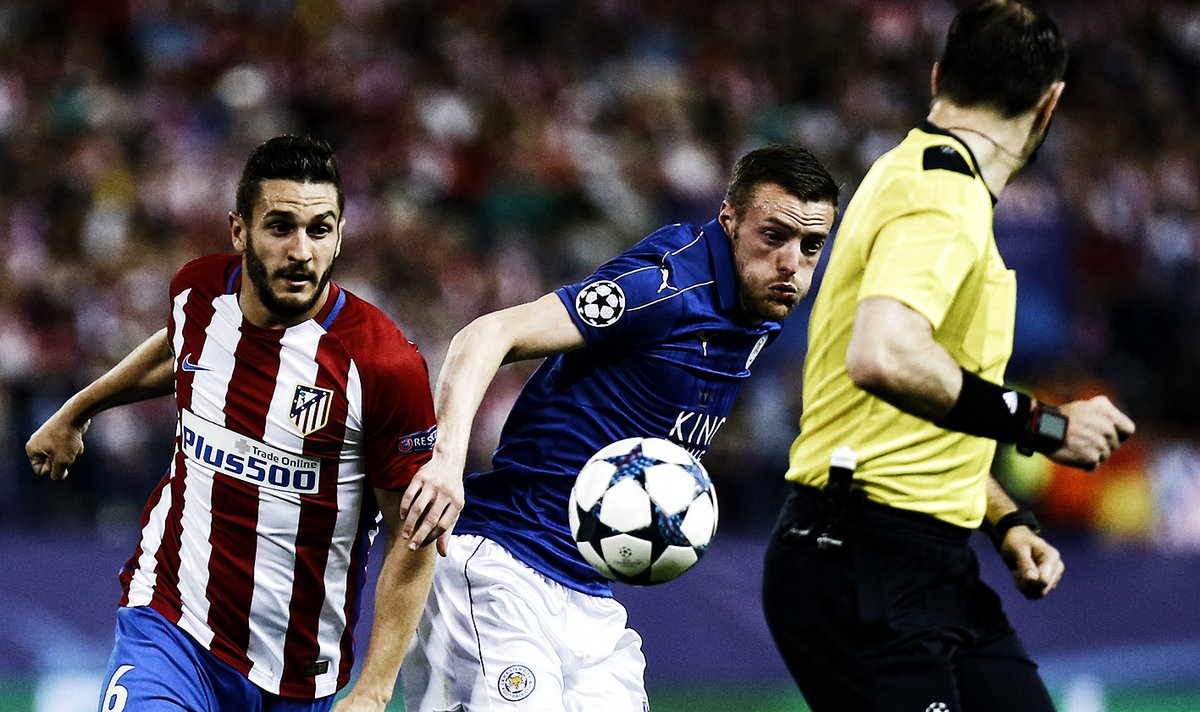 Griezmanns Penalty Helps Atletico Secure Narrow Lead Over Leicester In Champions League