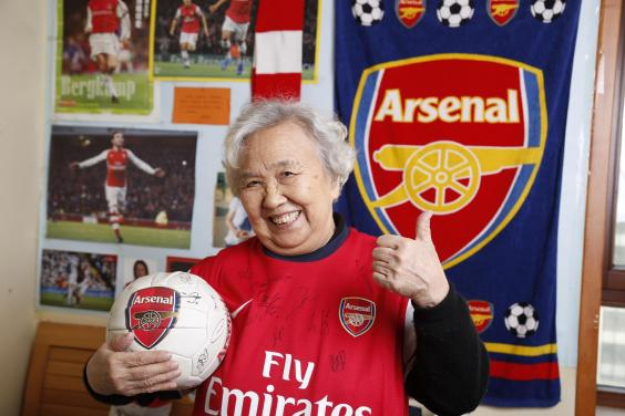 79 Year Old Chinese Granny To Be Given VIP Treatment By Premier League Giants Arsenal