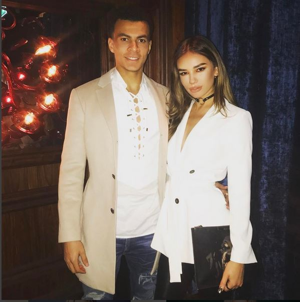 Dele Alli Parties With Playboy Bunny Melissa Howe At 21st Birthday Bash,  But Girlfriend Ruby Mae Is Absent