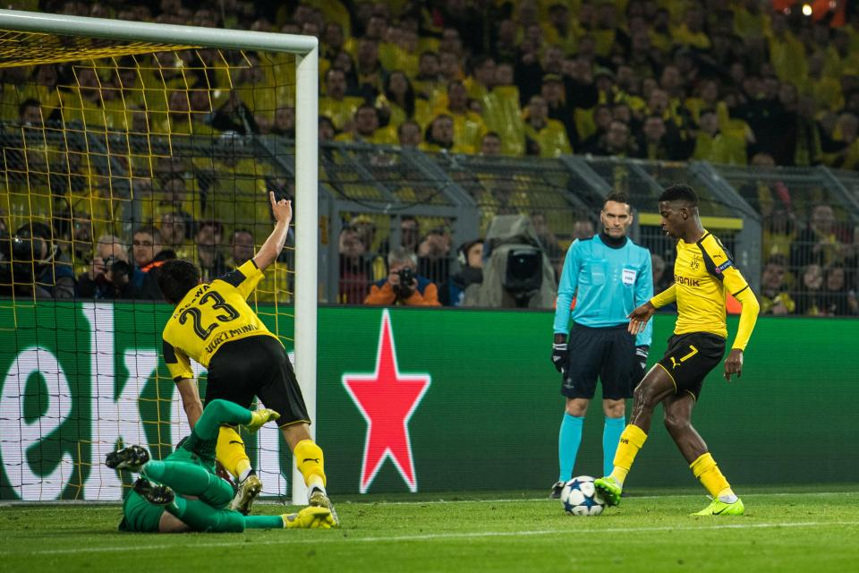 Mourinho Eyes £50m Swoop For Dortmund Wonderkid Ousmane Dembele, With Perisic Also On Radar